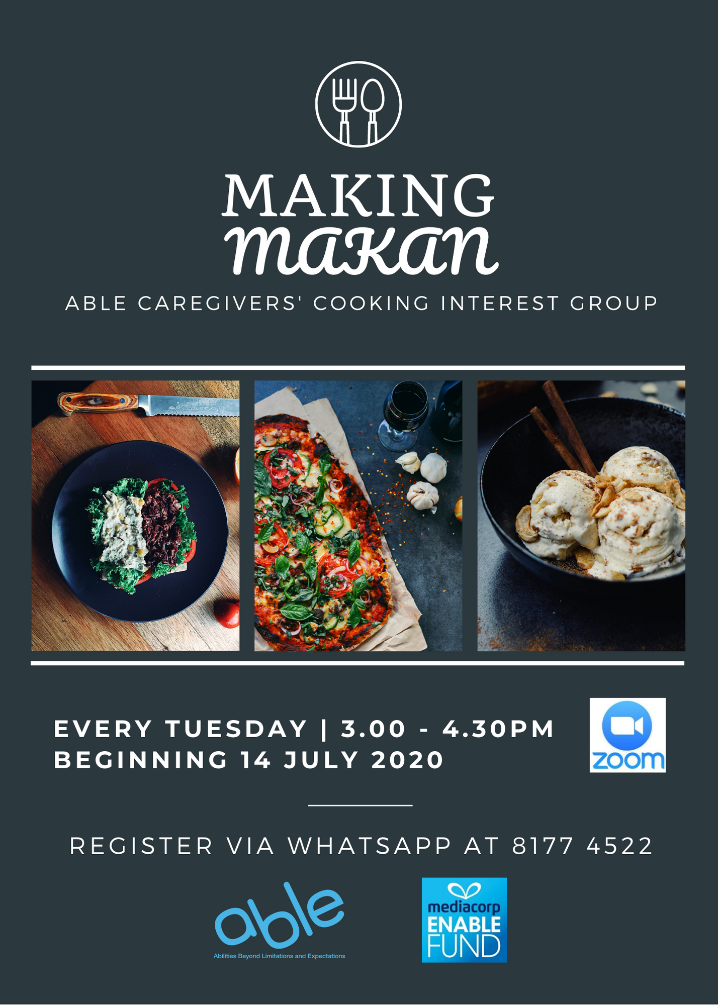 Making Makan Cooking Interest Group