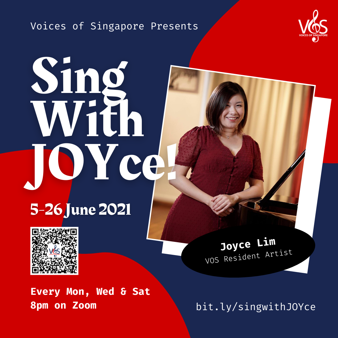 VOS Presents: Sing With Joyce