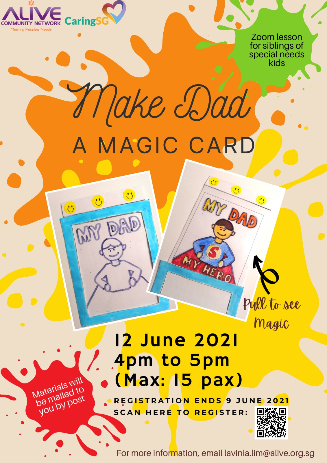 Father's Day Magic Card Workshop