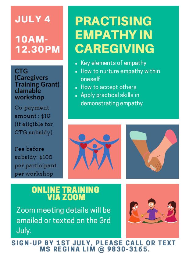 Practising Empathy In Caregiving