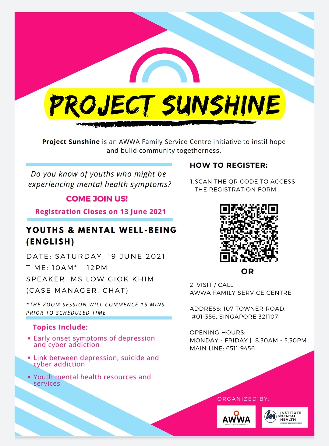 Project Sunshine - Youth & Mental Well Being