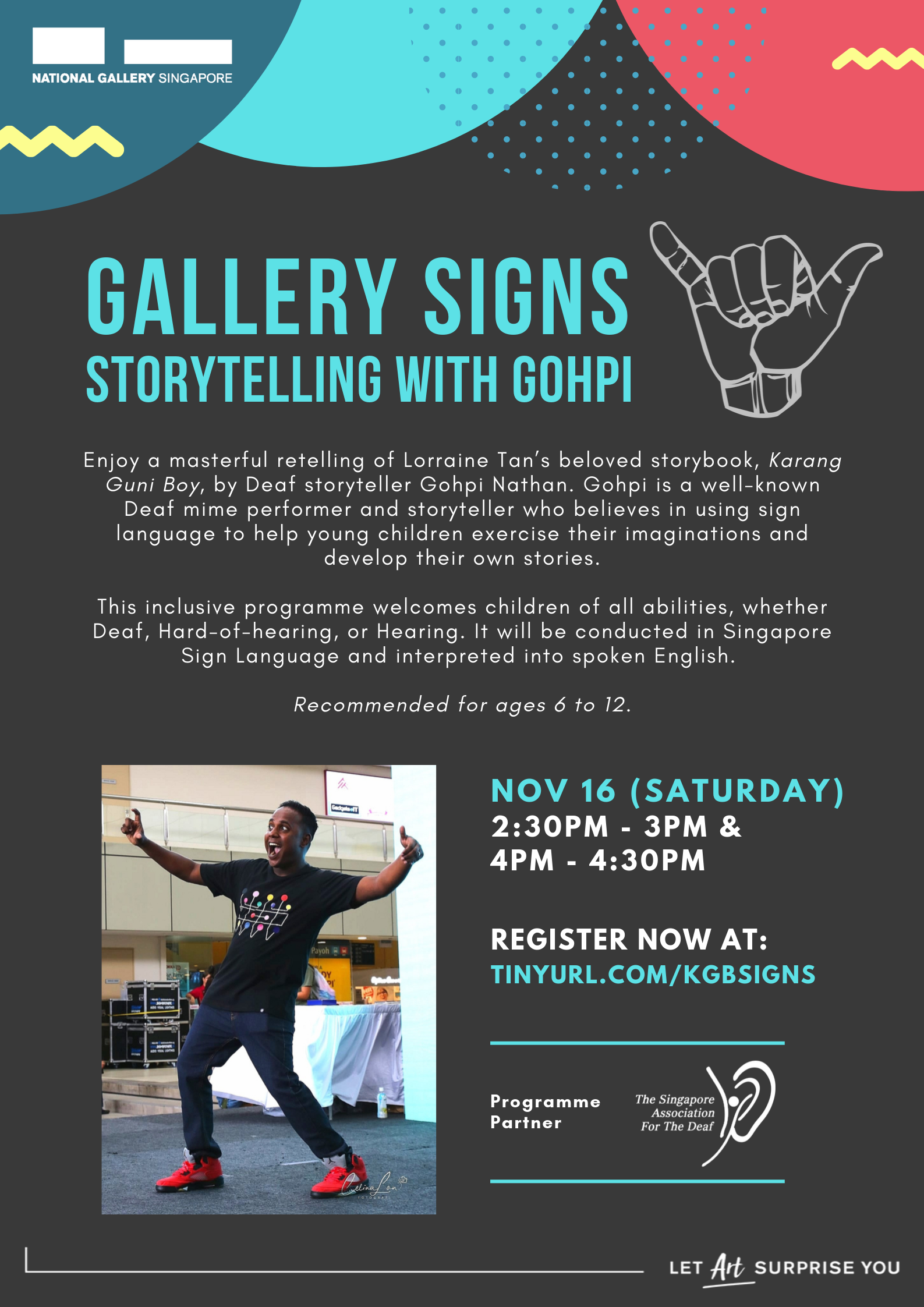 Gallery Signs: Storytelling Session With Gohpi