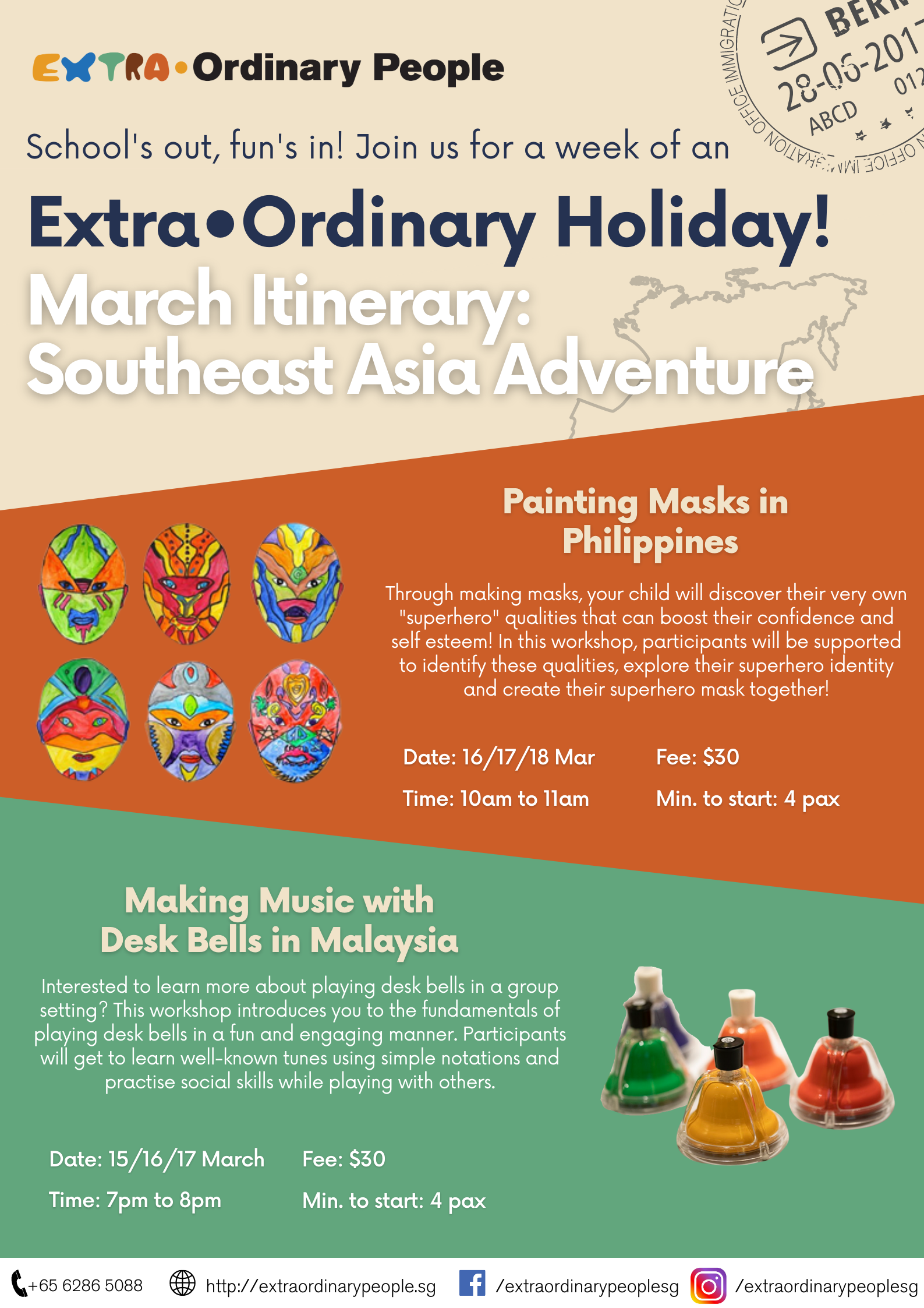Southeast Asia Adventure: Painting Masks In Philippines