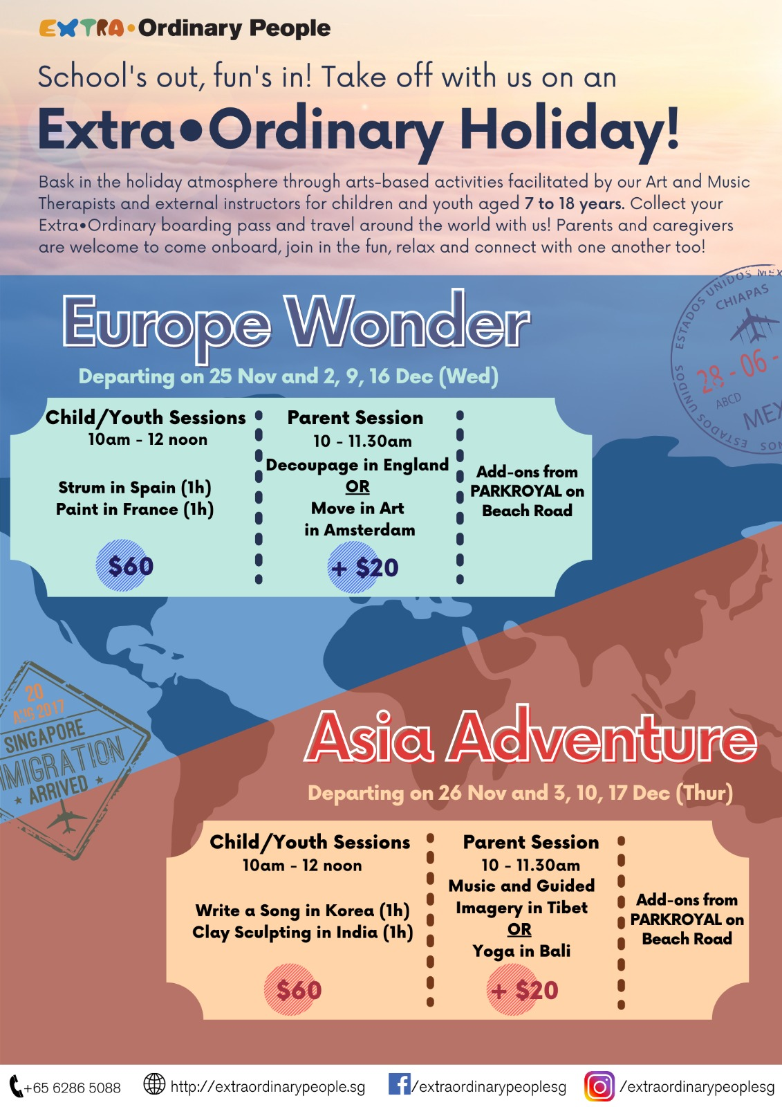 Extra•Ordinary Holiday - Asia Adventure