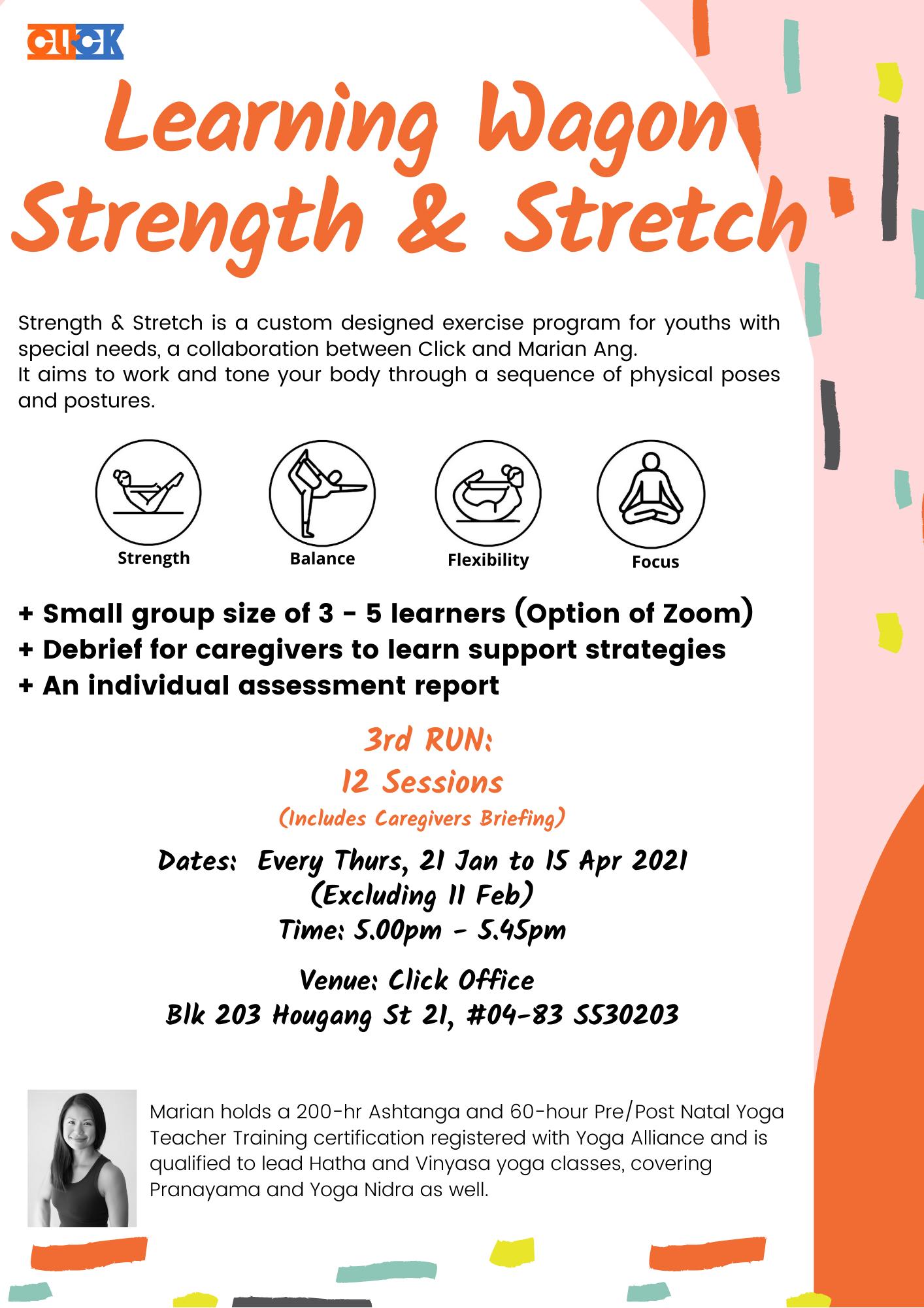 Learning Wagön: Strength & Stretch 3