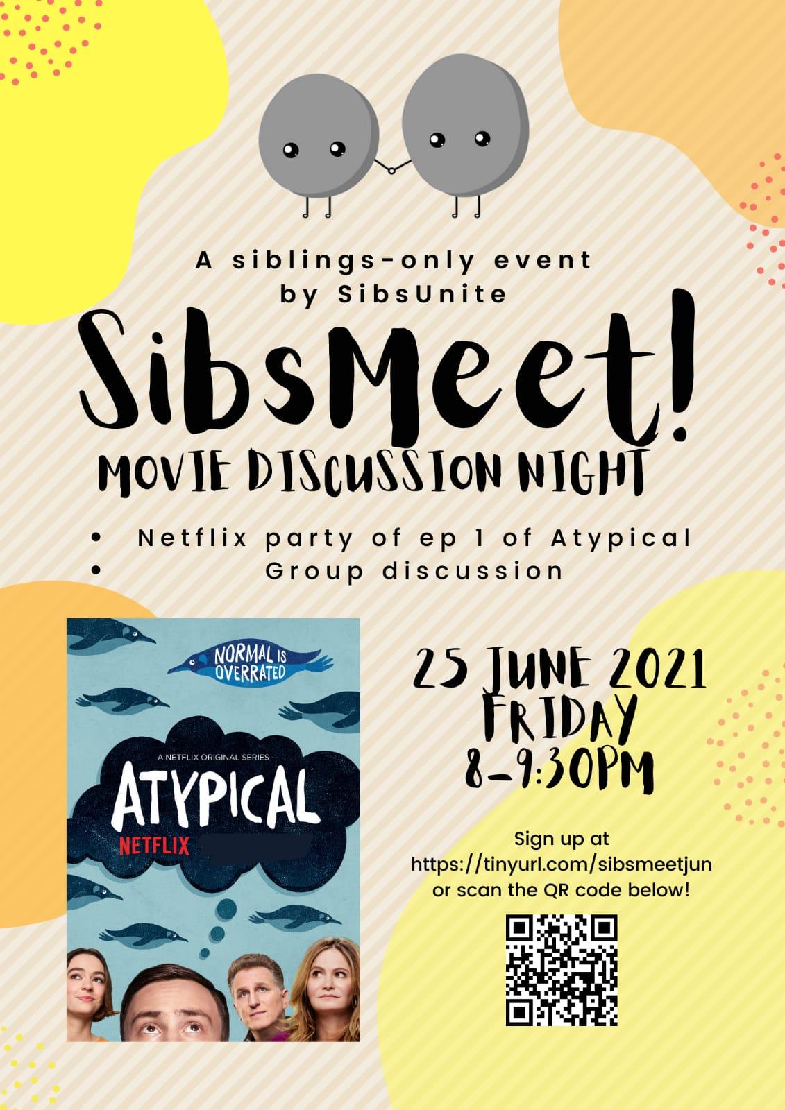 Sibsmeet! Movie Discussion Night