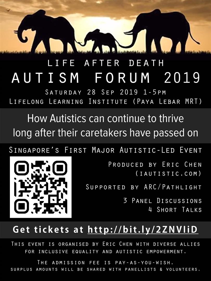 Life After Death Autism Forum 2019